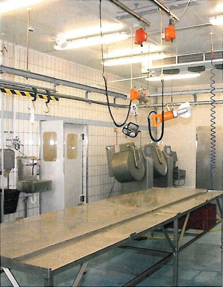 Reinigungsstationen in Lebensmittelbetrieben
